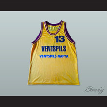 BK Ventspils Latvia Basketball Jersey