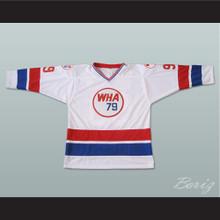 Wayne Gretzky 99 WHA All-Star Hockey Jersey 1979 New Any Size