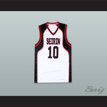 Kagami Taiga 10 Seirin High School Basketball Jersey Cosplay