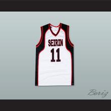 Tetsuya Kuroko 11 Seirin High School Basketball Jersey Cosplay