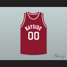 Saved By The Bell Screech 00 Bayside Tigers Basketball Jersey Away