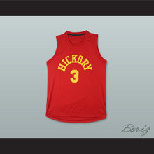George Hill 3 Hickory Hoosiers Basketball Jersey