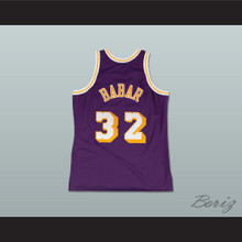 Fletch Alias Series Arnold Babar 32 Basketball Jersey