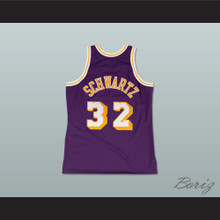 Fletch Alias Series Bobby Lee Schwartz 32 Basketball Jersey