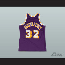 Fletch Alias Series Dr. Rosenpenis 32 Basketball Jersey