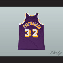 Fletch Alias Series Dr. Rosenrosen 32 Basketball Jersey