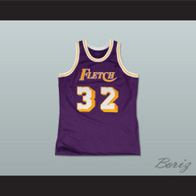 Fletch Alias Series Fletch F. Fletch 32 Basketball Jersey