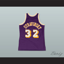 Fletch Alias Series Igor Stravinsky 32 Basketball Jersey