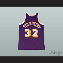 Fletch Alias Series Ted Nugent 32 Basketball Jersey