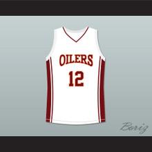 Robert Ri'chard Damien Carter 12 Richmond Oilers Away Basketball Jersey Coach Carter