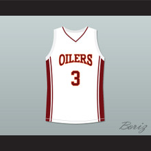 Antwon Tanner Jaron 'Worm' Willis 3 Richmond Oilers Away Basketball Jersey Coach Carter