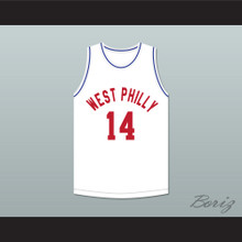 Will Smith 14 West Philly Basketball Jersey