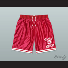 Bel-Air Academy Red Basketball Shorts