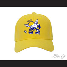 WHA Minnesota Fighting Saints Yellow Baseball Hat
