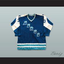 WHA 1972-73 Houston Aeros Away Hockey Jersey