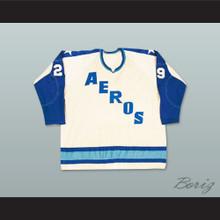 WHA 1972-73 Houston Aeros Home Hockey Jersey