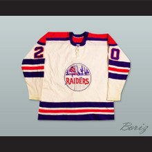 WHA 1972-73 New York Raiders Home Hockey Jersey