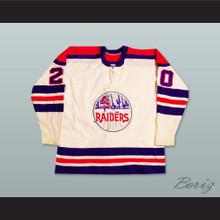 WHA 1972-73 New York Raiders Home Hockey Jersey