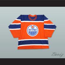 WHA 1972-73 Alberta Oilers Away Hockey Jersey