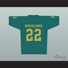 Tony Nathan 22 Woodlawn Colonels High School Home Football Jersey