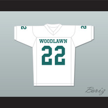 Tony Nathan 22 Woodlawn Colonels High School Away Football Jersey