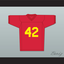 Ricky Baker 42 Red Football Jersey Boyz n the Hood