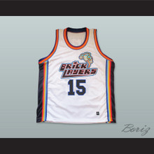 Marcus Schenkenberg 15 Bricklayers Basketball Jersey Sixth Annual Rock N' Jock B-Ball Jam 1996
