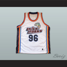 Rock N' Jock 96 Bricklayers Basketball Jersey Sixth Annual Rock N' Jock B-Ball Jam 1996