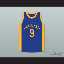 Drake Jimmy Brooks 9 Degrassi Community School Panthers Basketball Jersey