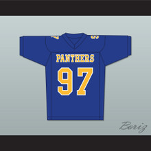 Daniel Kelly Owen Milligan 97 Degrassi Community School Panthers Football Jersey