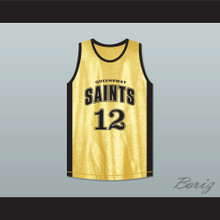 Stephen Curry 12 Queensway Christian College Saints Toronto Basketball Jersey