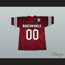 Derek Hale 00 Beacon Hills Cyclones Lacrosse Jersey Teen Wolf Includes Patch