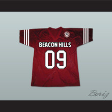 Liam Dunbar 09 Beacon Hills Cyclones Lacrosse Jersey Teen Wolf Includes Patch