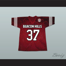 Jackson Whittemore 37 Beacon Hills Cyclones Lacrosse Jersey Teen Wolf Includes Patch