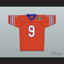 Bobby Boucher 9 Mud Dogs Home Football Jersey with Bourbon Bowl Patch
