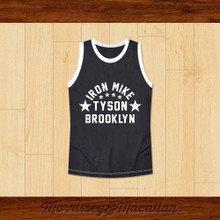 Boxer Iron Mike Tyson Basketball Jersey by Morrissey&Macallan
