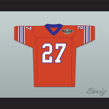 Casey Bugge 27 Mud Dogs Home Football Jersey with Bourbon Bowl Patch