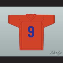 Adam Sandler Bobby Boucher 9 Mud Dogs Football Jersey The Waterboy