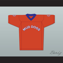 The Waterboy Mud Dogs Mascot 0 Football Jersey