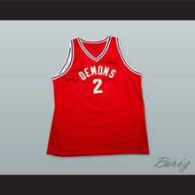 Tim Duncan 2 Demons Basketball Jersey