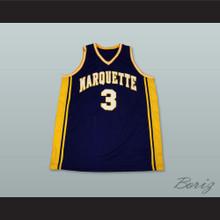 Dwyane Wade 3 Marquette Basketball Jersey