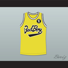Notorious B.I.G. Biggie Smalls 72 Bad Boy Basketball Jersey with Patch