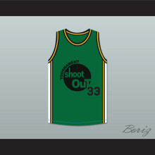Dark Green Tournament Shoot Out Basketball Jersey Above The Rim
