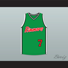 Grove Street Families 7 Los Santos Rimmers Basketball Jersey