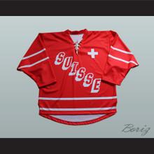 Suisse Switzerland Hockey Jersey