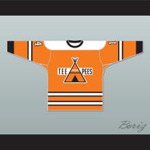 OHA St. Catharines Teepees 14 Home Hockey Jersey