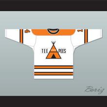 OHA St. Catharines Teepees 14 Away Hockey Jersey