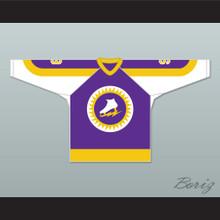 WHA 1973-74 New York Golden Blades Norm Ferguson 9 Away Hockey Jersey