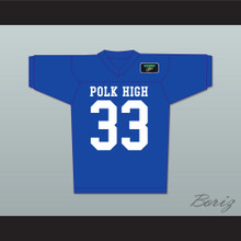 Al Bundy 33 Polk High Football Jersey with Married With Children Patch