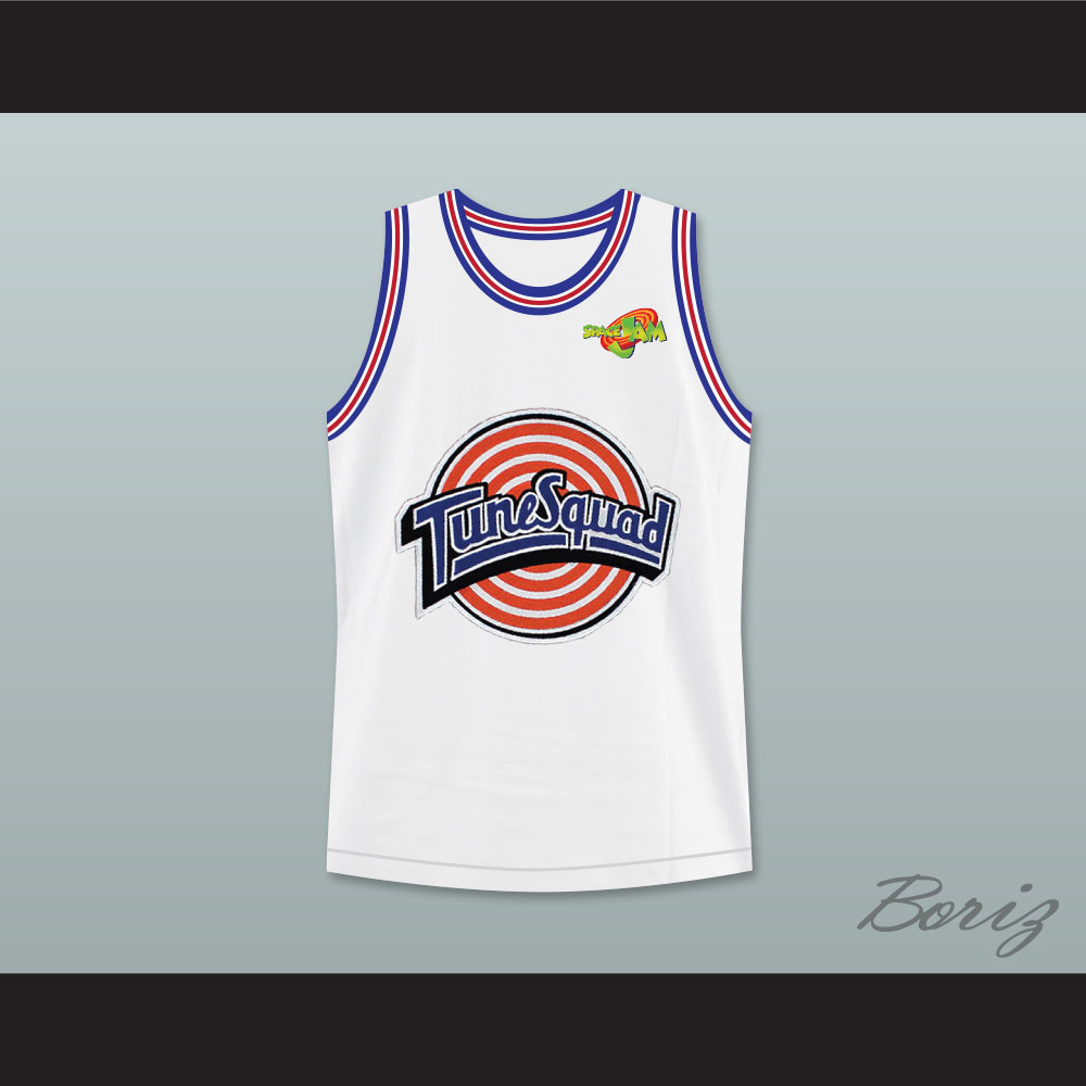 a2cee91d61e27d Michael Jordan 23 Tune Squad Basketball Jersey Includes Space Jam Patch.  Price   55.99. Image 1
